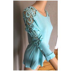 Super Soft and Comfy Crochet Sleeve Top